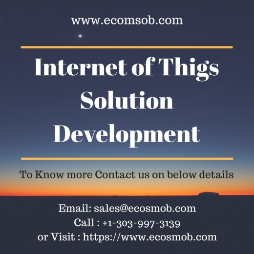 Customized Iot Solutions To Harness The Power Of Future