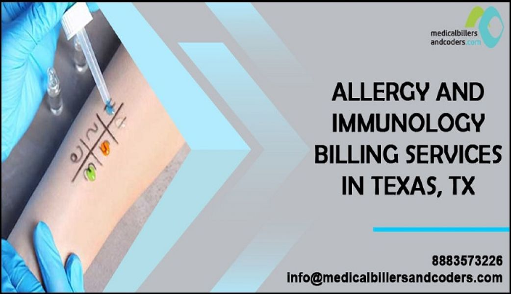 Experts in Allergy and Immunology Billing Services for Texas
