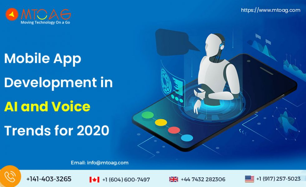 Mobile App Development in AI and Voice Trends for 2020