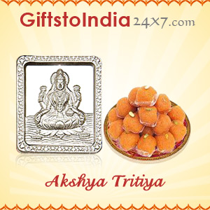 Send Silver Gifts and Sweets on Akshya Tritiya