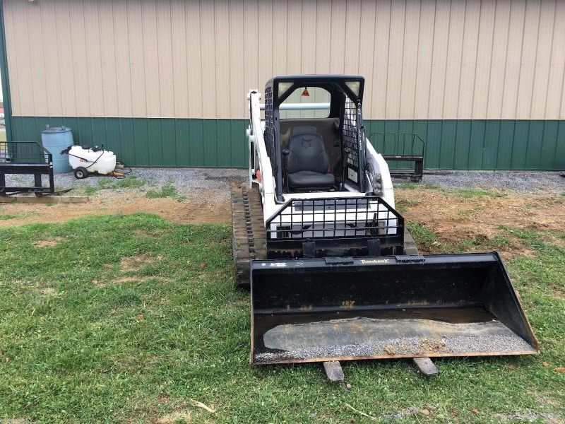 2006 Bobcat T190 Rubber Track Skid Steer Loader