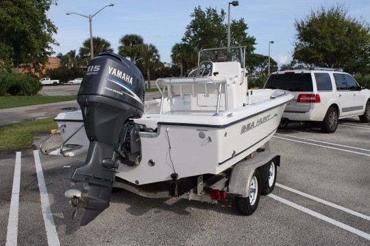2007 Sea Hunt BX 19 Navigator Bay + trailer