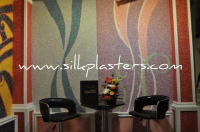 Silk Plaster unique liquid wallpaper (silk plaster wallcovering, wallcoating, wall decor)