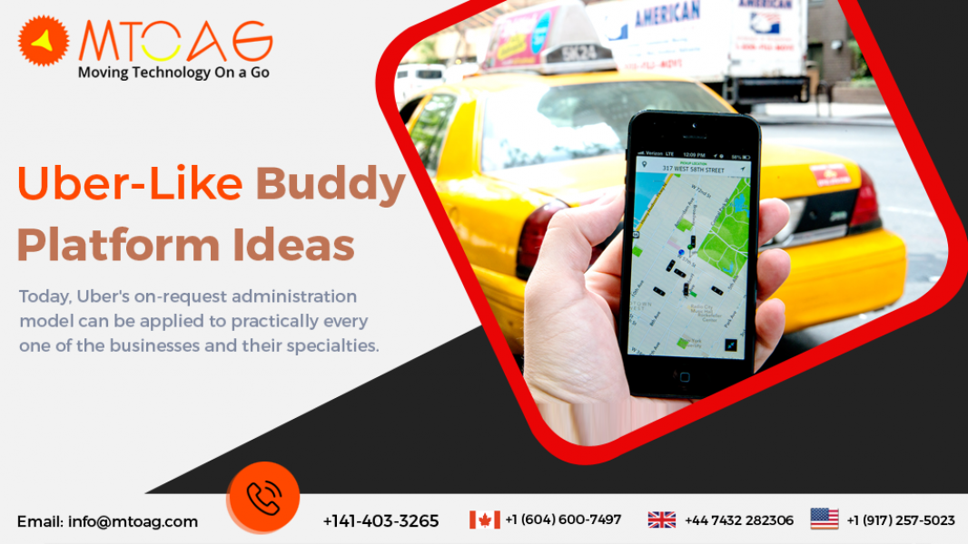 Uber Like Buddy Platform Ideas