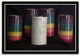 Homemade Chakra Energy Candles from Holland Ohio, Lucas by Candle Attitudes