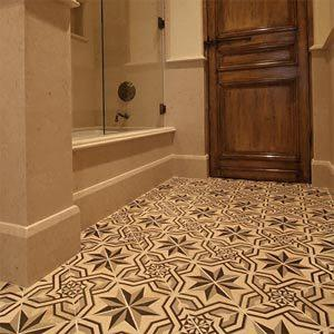 Luxury antique tiles antique floor antique for Spanish style floor tiles