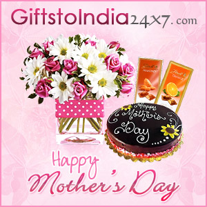 Send gifts on Mother's Day  to India