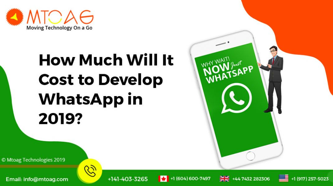 How Much Will It Cost to Develop WhatsApp in 2019?
