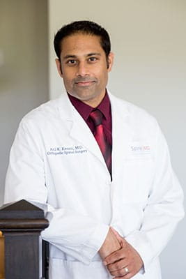 Dr Anil Kesani Spine Surgeon BackPain Specialist FortWorth