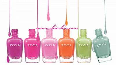 Over 400 Zoya Nail Lacquer Colors @ ChioChio.Com