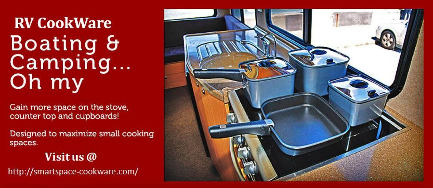 Stackable RV Cookware