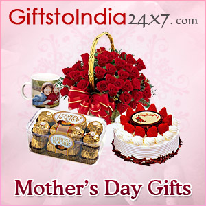 Send gifts on Mother's Day