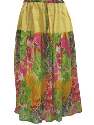 Summer Fashion Floral Print Long Skirts for Womens $24.99