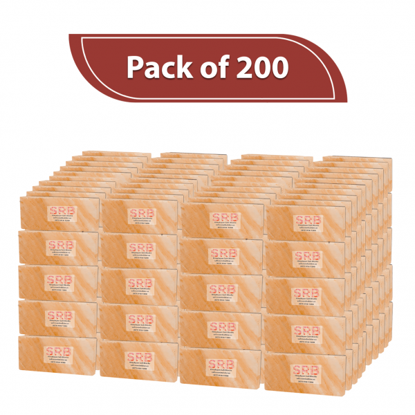 Himalayan Pink Salt Bricks - PACK OF 200