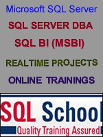 PRACTICAL SQL DBA ONLINE TRAINING BY REALTIME EXPERT