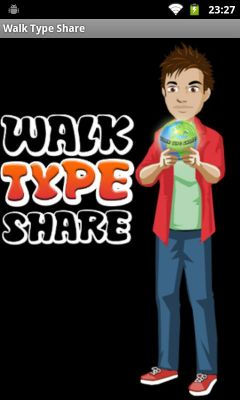 Walk Type Share - Free Download Android/IOS Application