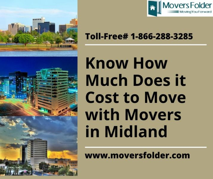 Know How Much Does it Cost to Move with Movers in Midland