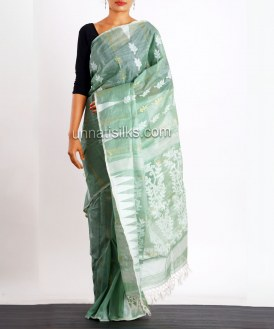 Online shopping for pure jamdhani silk sarees by unnatisilks