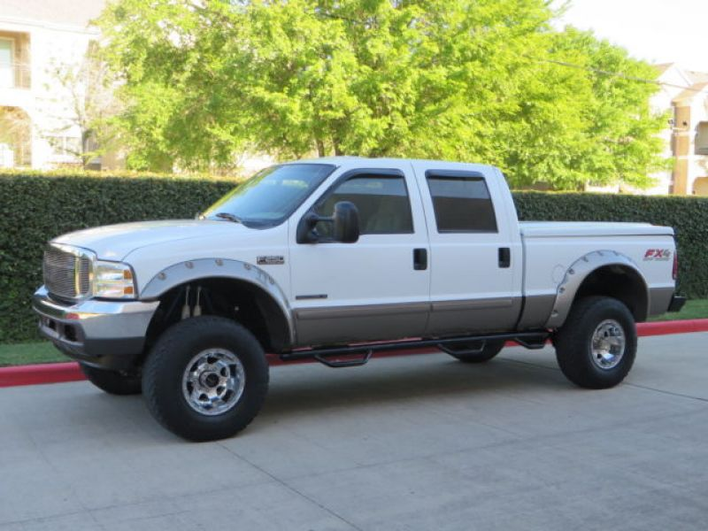 2002 ford f 250 powerstroke lariat crew cab 4x4 diesel. Black Bedroom Furniture Sets. Home Design Ideas
