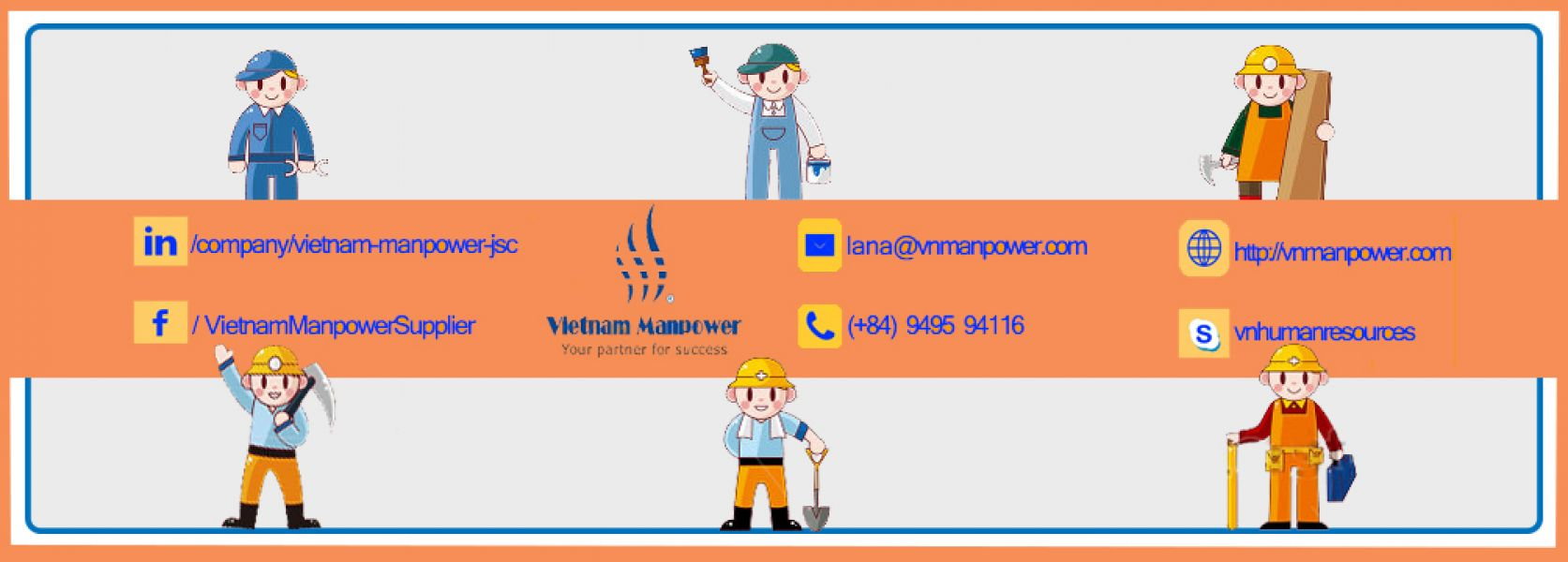 VMST - Expert supplier of Vietnam construction manpower