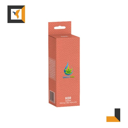 Custom CBD Isolate Packaging Boxes Wholesale