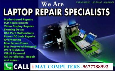 iMat Computers, All Laptops and Computers Services Centers In Trichy:: 96777 88992