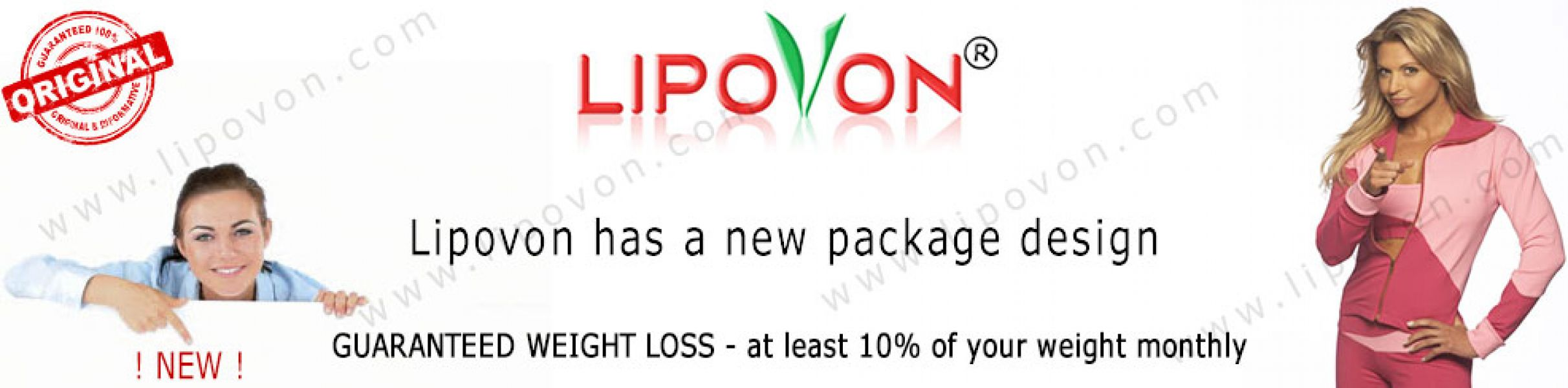 Quick weight loss with Lipovon