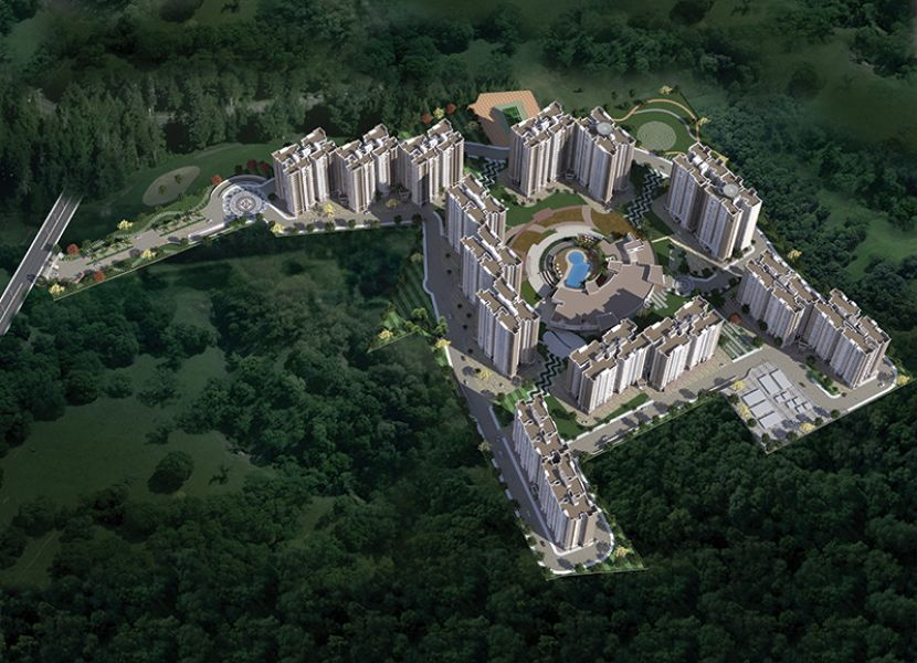2 And 3 BHK Apartments by Prestige Song of the South Bangalore