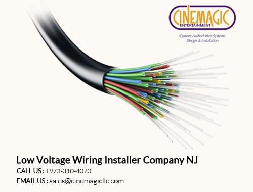 Low Voltage Wiring Installer Company in NJ
