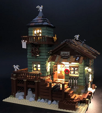 LED Building Kit For Old Fishing Store 21310