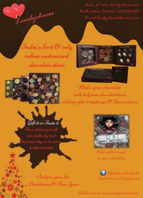 online chocolate store for gifting in India