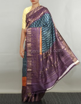 Online shopping for handloom bengal tussar silk saris by unnatisilks