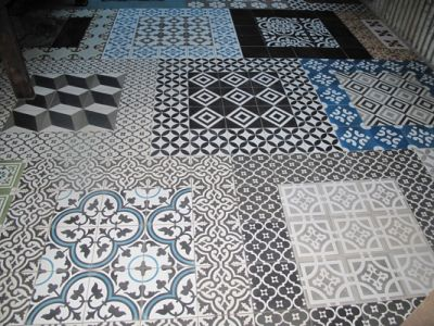 OLD FLOOR TILES for DESIGN SHOP, DESIGN RESTAURANT, DESIGN BAR, DESIGN KITCHEN, by LUXURYSTYLE.ES