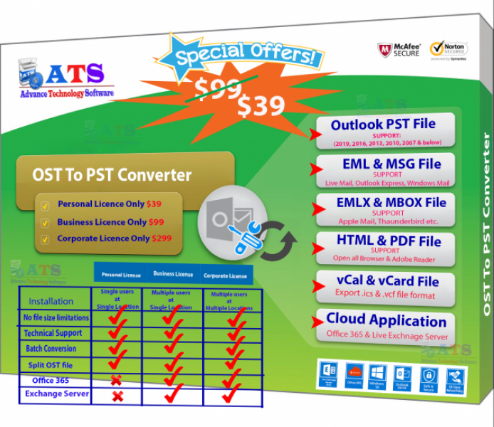 OST to PST Best Converter Software
