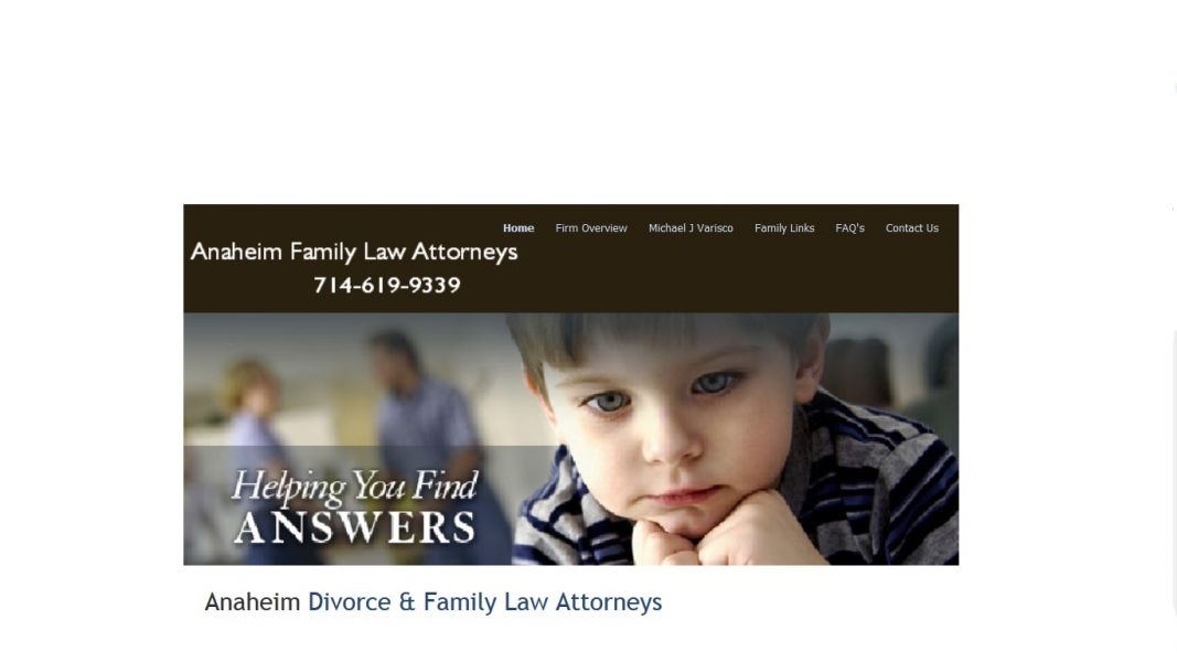 Anaheim Divorce and Family Law Attorneys