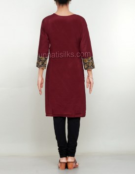 Online shopping for kalamkari cotton kurtis by unnatisilks
