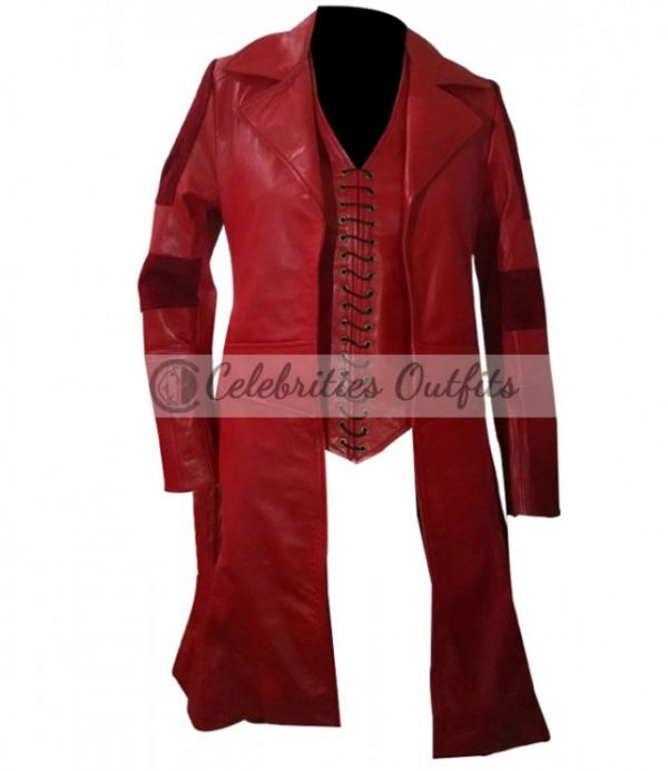 Captain America Civil  War Wanda Maximoff Coat