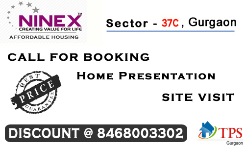 Ninex-RMG Residencey Affordable Housing Sector 37C Gurgaon @ 9599268249