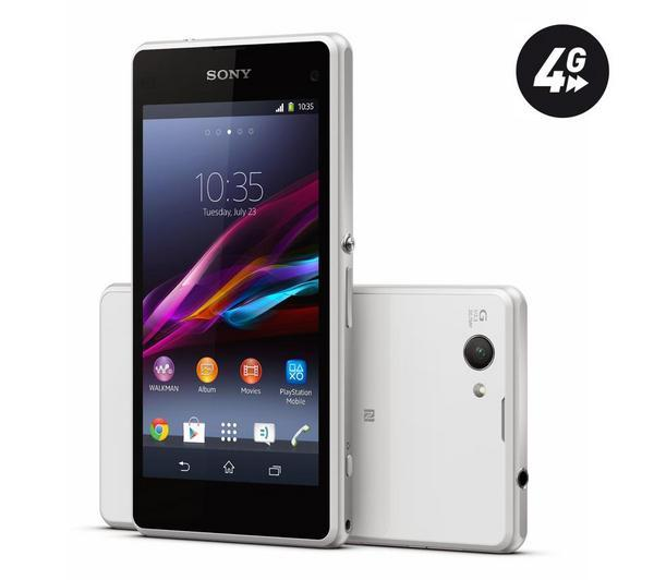 SONY Xperia Z1 Compact white ( Silver-67082)