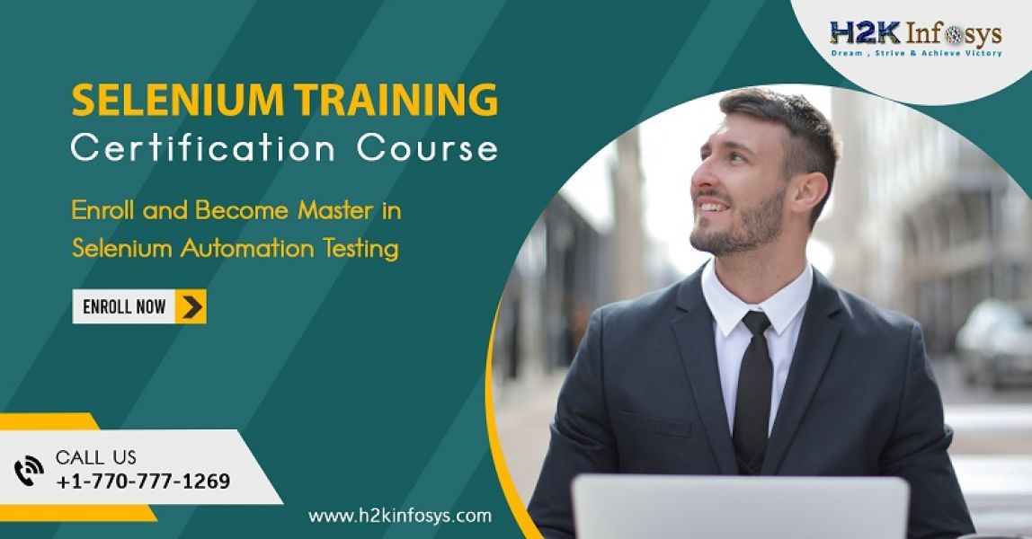 Selenium Training in usa
