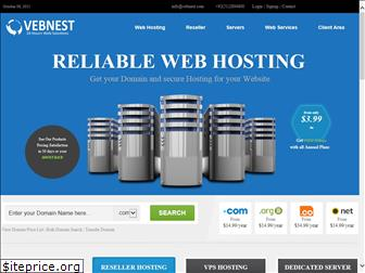 Vebnest | Vebnest Hosting Services | Our Job is to keep your website Live 24/7!