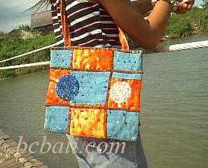 bead bag made in bali