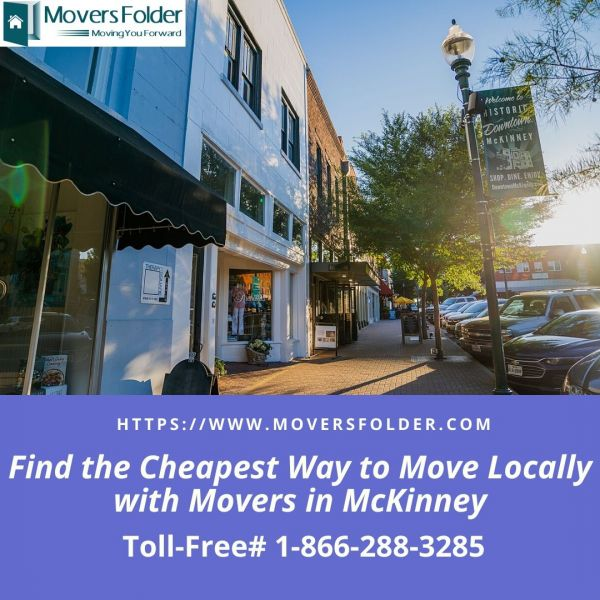 Find the Cheapest Way to Move Locally with Movers in McKinney