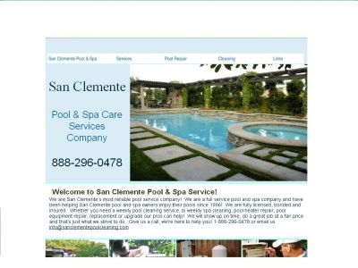 San Clemente Pool Cleaning & Repair Co.