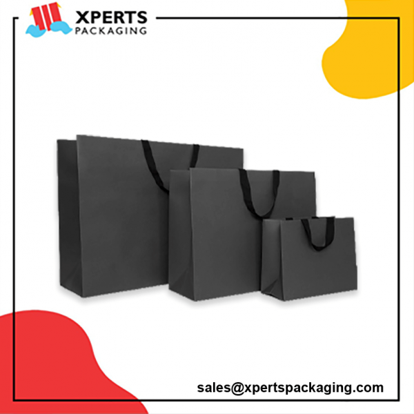 Custom Printed Paper Bags Packaging Boxes