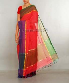 Online shopping for wedding kanchi cotton saris by unnatisilks