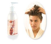 Natural hair conditioner for healthy natural shine