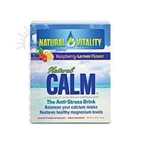 Natural Vitality Natural Calm Raspberry Lemon 30 Pkts