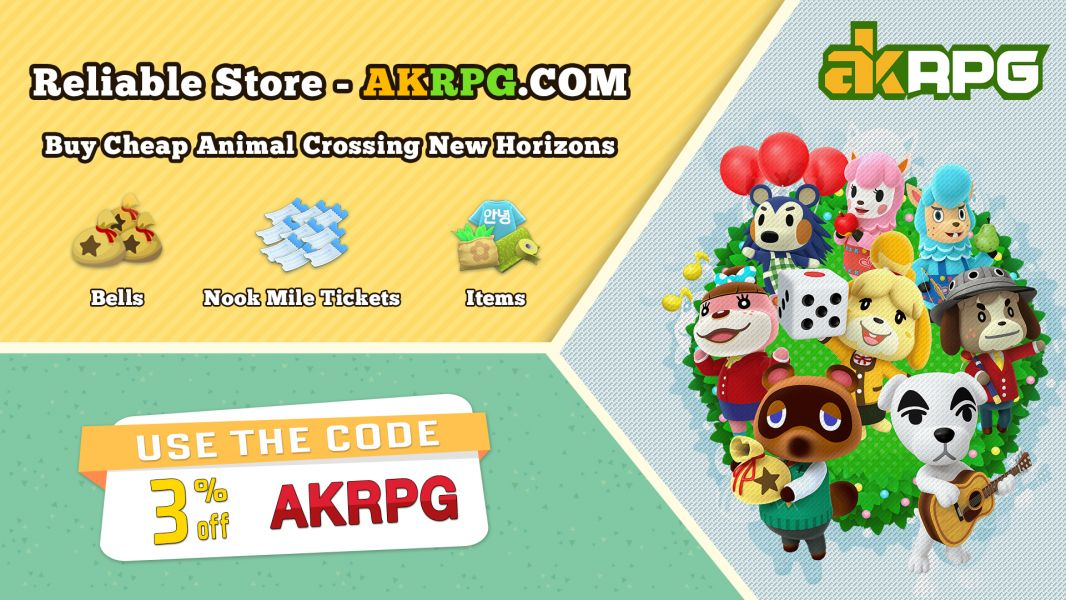 Buy Animal Crossing Nook Miles Tickests On Akrpg.com