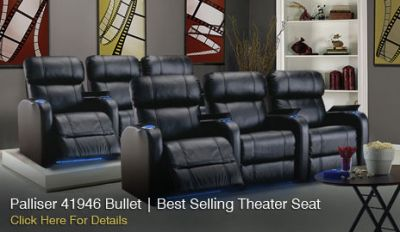 Best Palliser theater seating - Call Now 888-602-7328